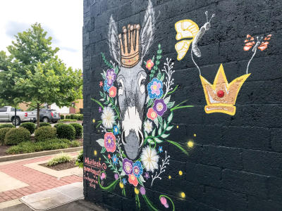 Mule Queen Mural by Whitleah on 6th St