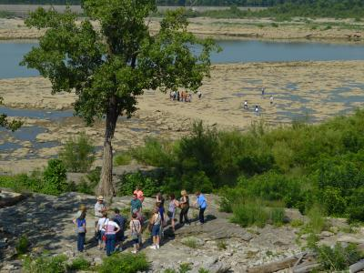 Falls of the Ohio fossil bed