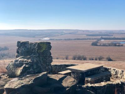 Coronado Heights Lookout - Rebekah Baughman Blog