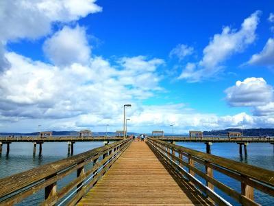Les Davis Pier in Tacoma, Washington