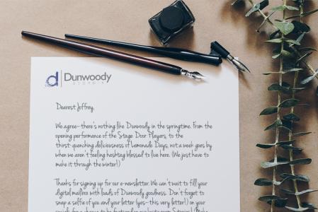 Dunwoody In Your Mailbox