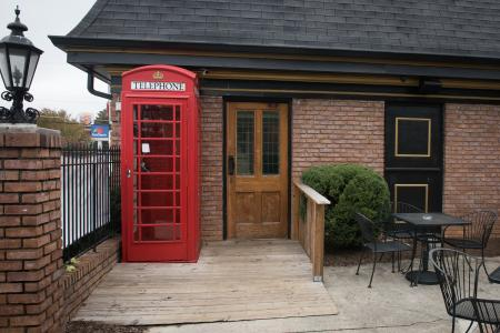 King George Tavern Phone Booth