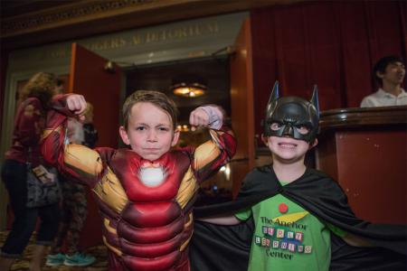 Costumes at the Jefferson Theatre