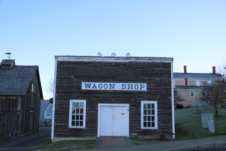 Wagon Shop in Steilacoom, Washington