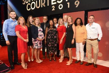 SUNsational luncheon winners 2019