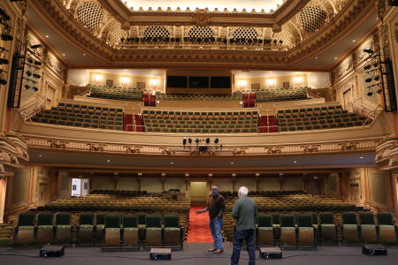 The Pantages Theater (Tacoma Arts Live) after renovation