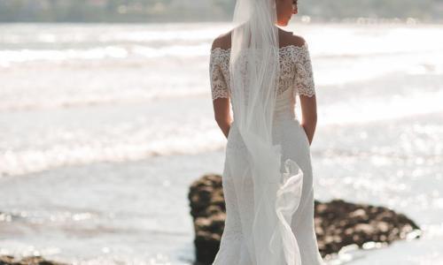 The Harris Co. Bride on Beach