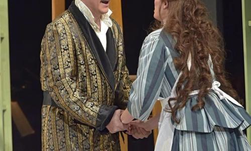 Opera Saratoga Couple Holding Hands