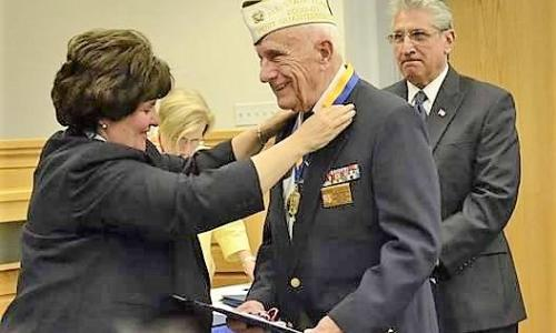 Friends of the NYS Military Museum Veteran Honored