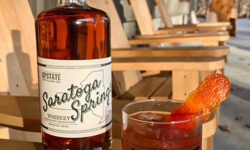 Capital Craft Beverage Trail Upstate Distilling glasses