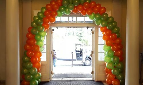 Creative Sparks and Balloonatics Balloon Arch
