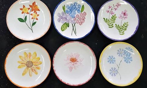 Creative Sparks and Balloonatics Ceramic Plates
