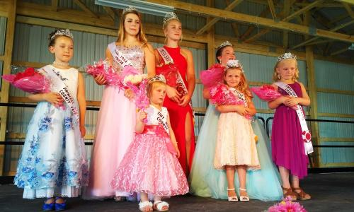 Saratoga County Fair beauty pagent