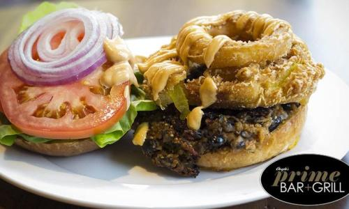 Burgers at Prime Bar + Grill