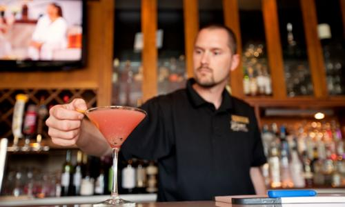 Cocktails at Prime Bar + Grill