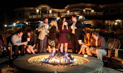 Fire Pit at Saratoga National