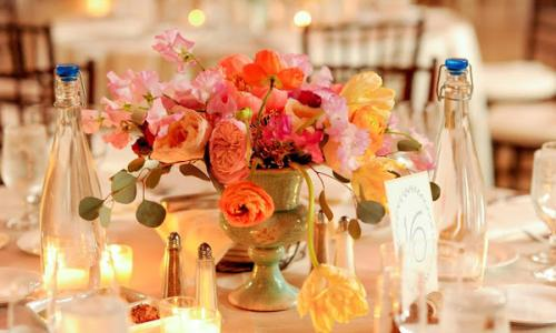 Table Decor at the Hall of Springs