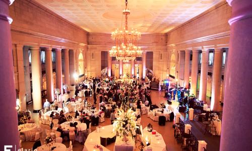 Wedding Reception at the Hall of Springs