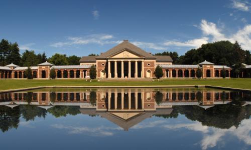 Saratoga Spa State Park reflecting pool
