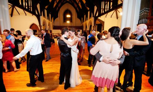 A Wedding on the Hudson Reception
