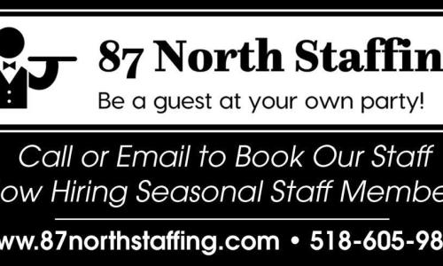 87 North Staffing Business Card