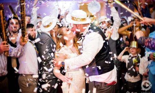 Complete Weddings Albany Confetti Photo