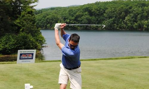 ADK Regional Chamber of Commerce golfer