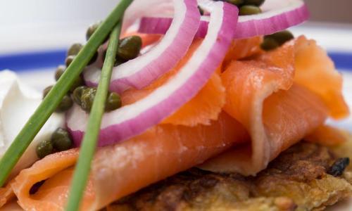 Saratoga's Broadway Deli smoked salmon