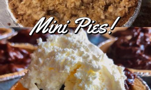Saratoga's Broadway Deli mini pies