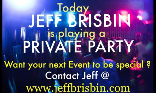 Jeff Brisbin Private Event ad