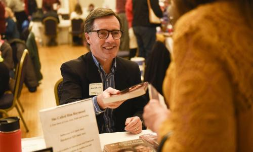 Ray O'Connor book signing