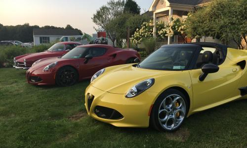 Classic Cars at Saratoga Polo