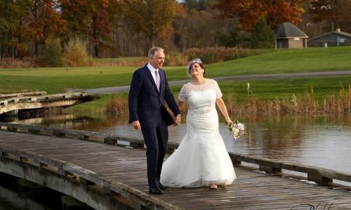 Saratoga National Fall Wedding