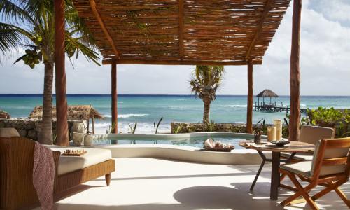 Live Life Travel Viceroy RM Beachfront Villa Views