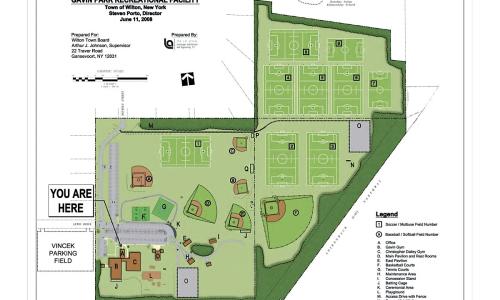 Gavin Park Map