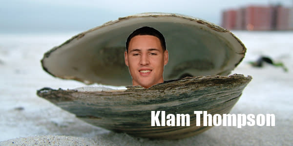 Klay Thompson April Fools