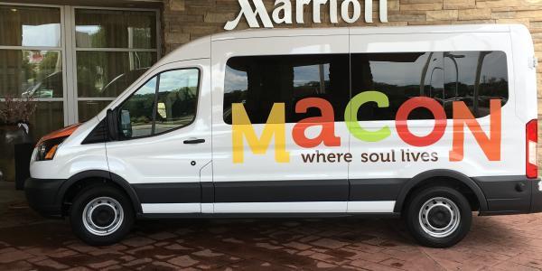 Macon CVB Van