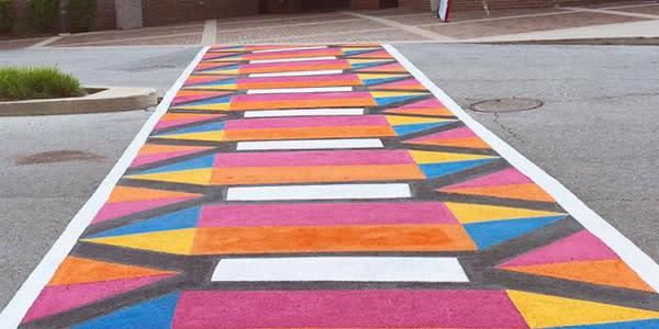 Amplify Art! Crosswalk Mural