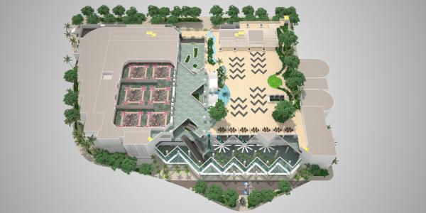 3D HCC Floor Plan - Level 4