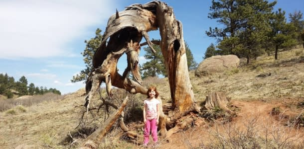 Little Girl on the NCAR Trail