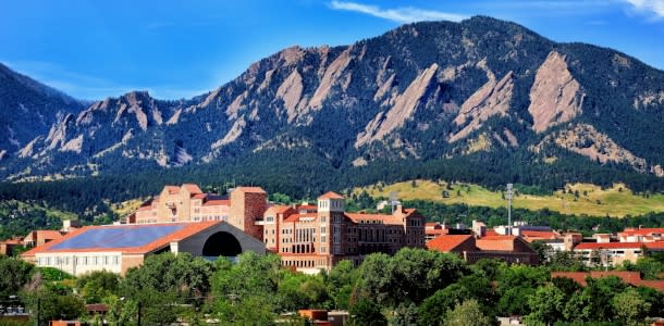 Boulder and CU in Summer