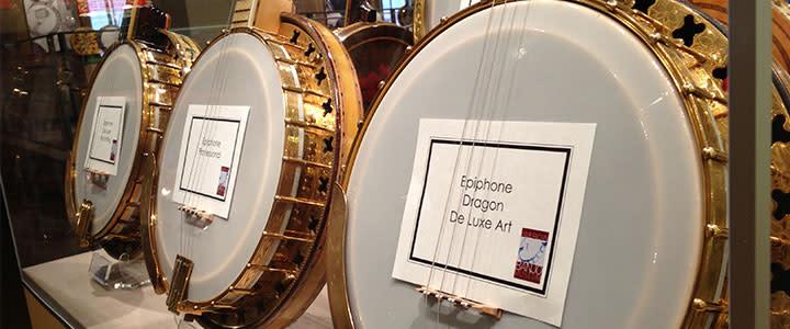 American Banjo Museum Display