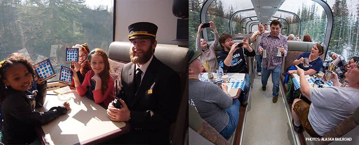 Fall Alaska Railroad - Fairbanks Alaska