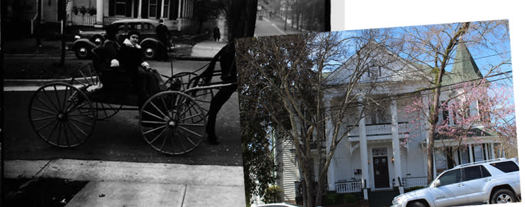Then and Now John Calloway House