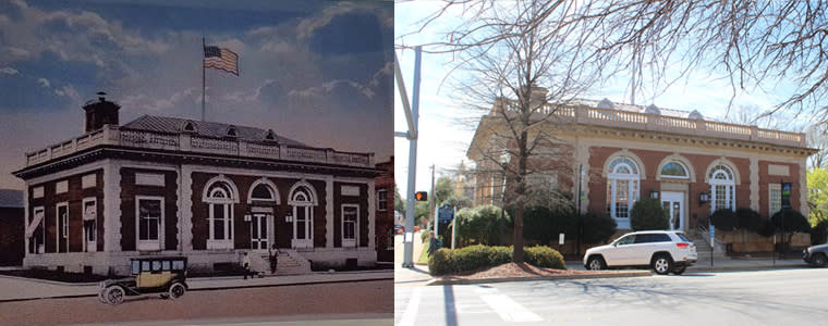 Then and Now CVB