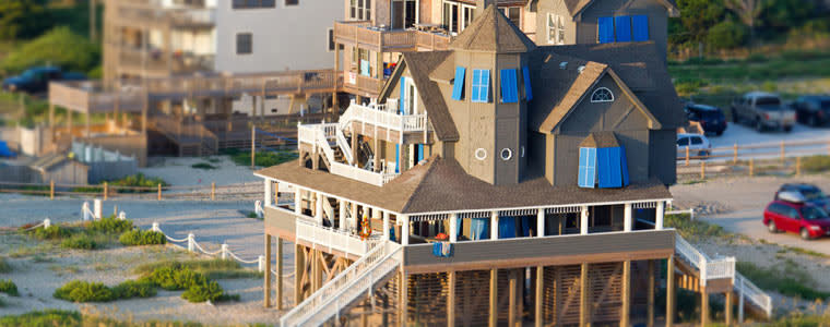 Rodanthe Is Home To The Chicamacomico Lifesaving Station First Such Elished Along North Carolina Coast In Service Of U S