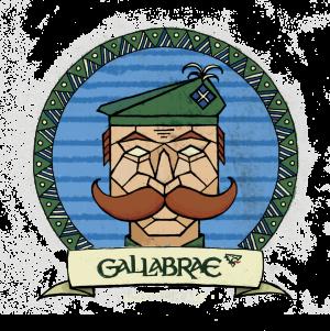 Gallabrae Scottish Ale Logo