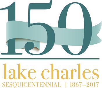 Lake Charles, LA Sesquicentennial Logo