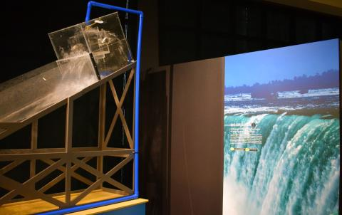 Exploring the element of water at the Rochester Museum & Science Center