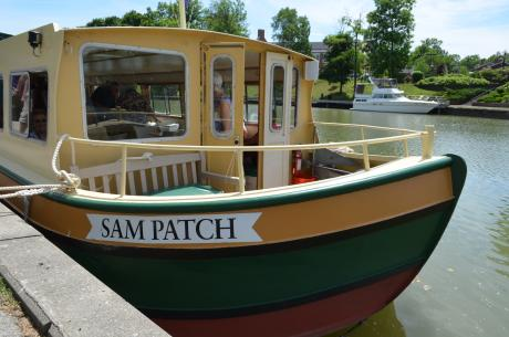 Sam Patch Erie Canal Boat